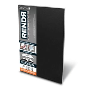 RENDЯ® Soft Cover Lay-Flat Sketchbook