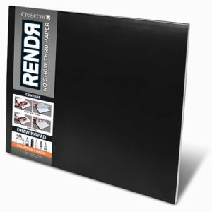 RENDЯ® Soft Cover Drawing Pad