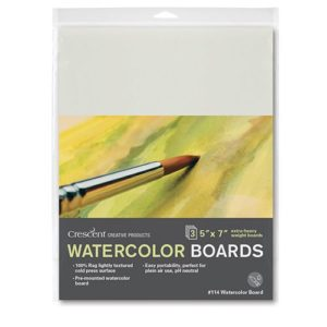 114 Watercolor Board 3-Pack
