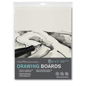 99 Illustration Board, Warm White 3-Packs