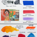 20 Illustration Lettering Board with art test