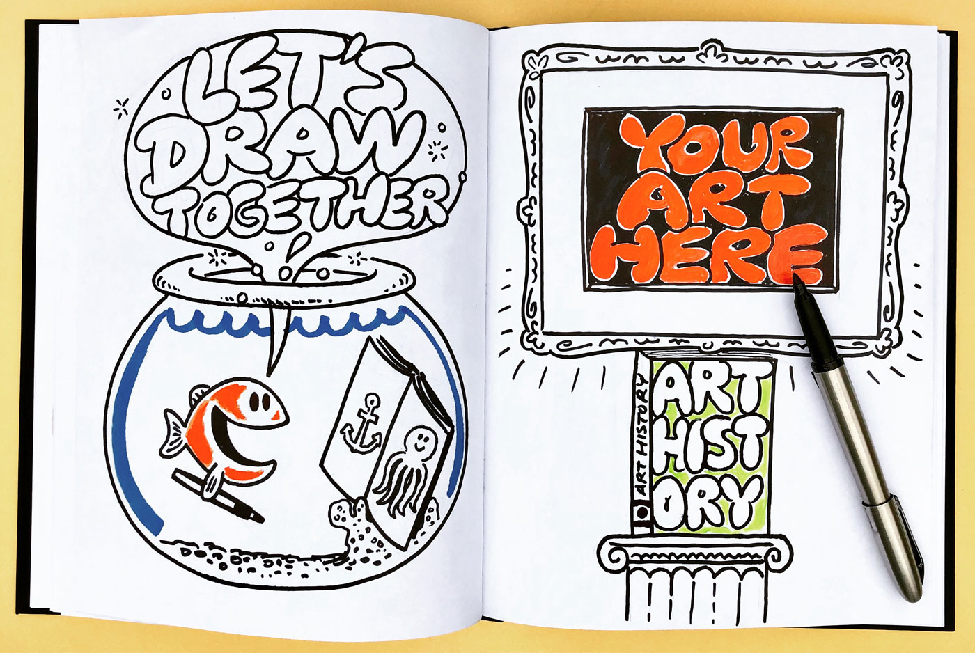 Let's Draw Together