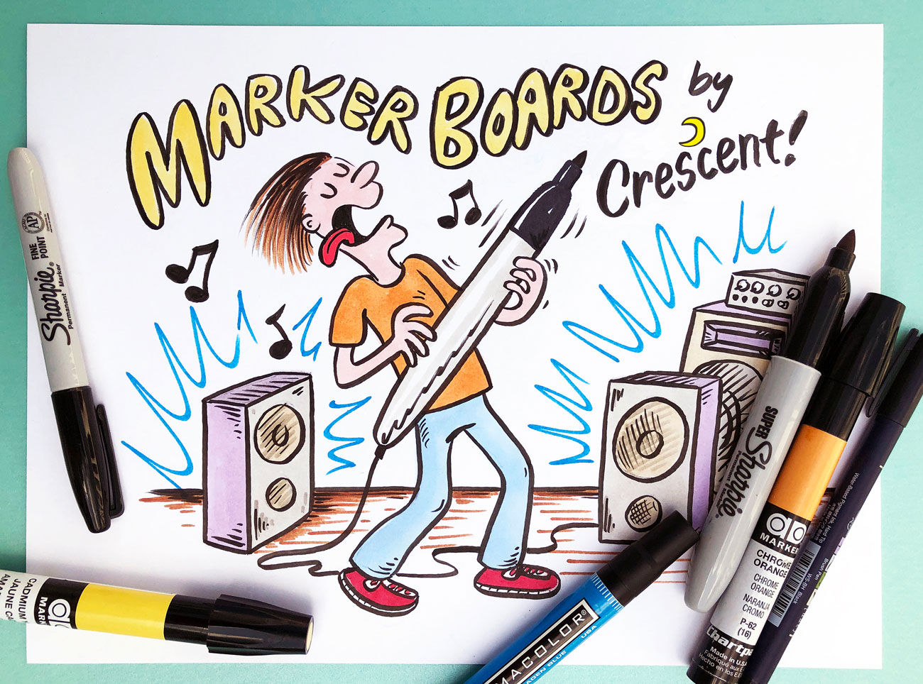 Rock those marker boards