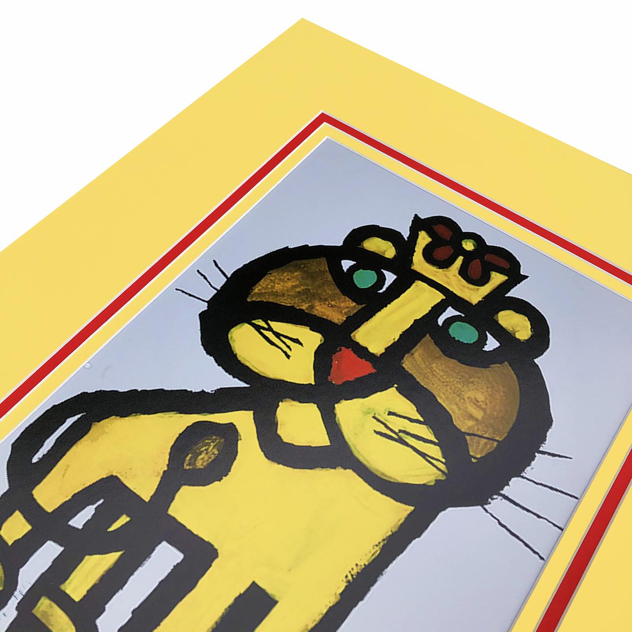 Summer 9518 Lion Print
