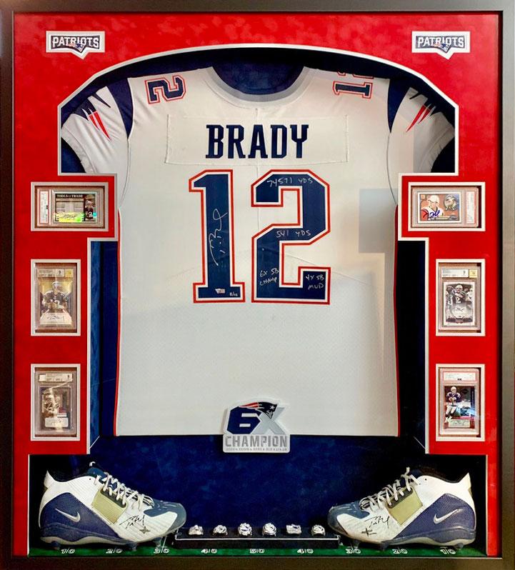 Brady Jersey | Framed Sports Memorabilia