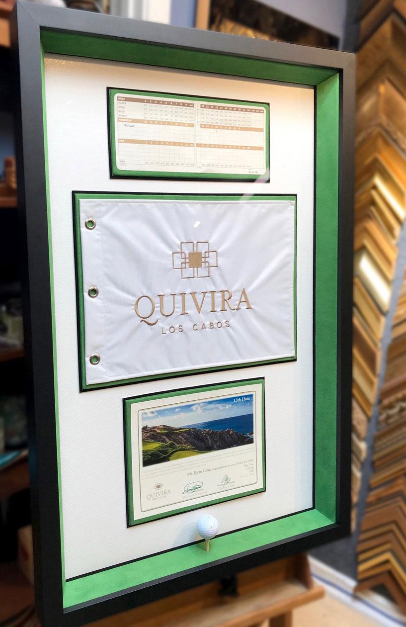 Golf Scorecard | Framed Sports Memorabilia