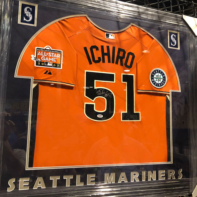 Ichiro Jersey | Framed Sports Memorabilia