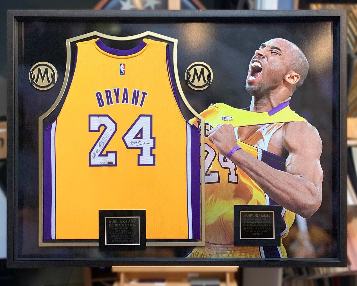 Bryant Jersey | Framed Sports Memorabilia