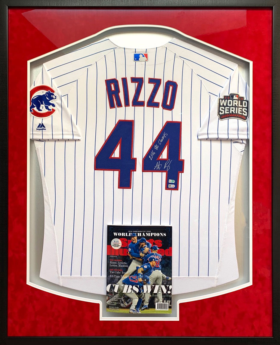 Rizzo Jersey | Framed Sports Memorabilia