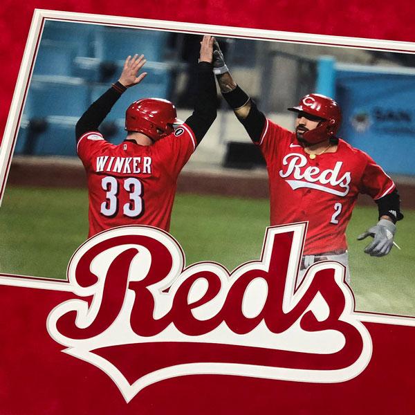 Reds Photo | Framed Sports Memorabilia